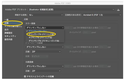 Adobeリンク画像を軽くする